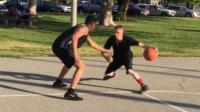 街球教授solo身高195的小伙伴,篮球斗牛视频