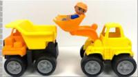 儿童电动挖掘机 男孩玩具车挖土机 挖掘机工作 608