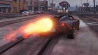 「GTA5」大神把车改成这样,速度超过了火车!侠盗猎车手5