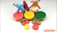 花园宝宝彩泥制作认识水果和颜色 23