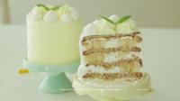 【Amy时尚世界】饼干水果奶油蛋糕塔