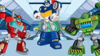 【亮哥】变形金刚救援机器人灾难来袭#3 火山关卡消灭灾难机器人 恐龙机器人.mp4