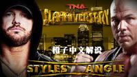 【五一特辑】13年TNA 科特-安格 VS. AJ斯泰尔斯 个