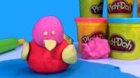 培乐多彩泥玩具制作小鸭子模型