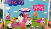 小猪佩奇佩佩猪玩具 2017 粉红小猪佩奇玩具车拆箱 62