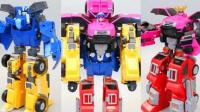 1141 - 迷你突击队转化为终极战士工会机器人玩具车变形金刚玩具