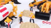 挖掘机视频表演大全3 儿童工程车表演 汽车总动员动画片中文版 斑马开车2