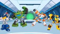 【亮哥】变形金刚救援机器人#7龙卷风 恐龙机器人