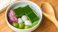 初夏的冰果子·抹茶寒天红豆霜丨绵羊料理