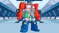 【亮哥】变形金刚救援机器人#9困难模式火山关卡三星 擎天柱变身霸王龙