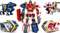 Geo Mecha 圣兽机 守护者 雷霆3组合组合狮子虎捷豹机器人固体野兽变形金刚 韩国人气玩具 【 俊和他的玩具们 】