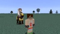 我的世界【明月庄主☆小兔子】EP38兔子为啥上了马Minecraft