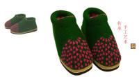 【手工织品】自定义  第1段毛线鞋毛线棉鞋毛线拖鞋棒针编织零基础视频教程