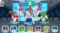 变形金刚救援机器人灾难来袭第3期:暴风雪来袭★汽车人玩具