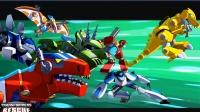 变形金刚:救援机器人第4期:打败摩洛哥机器人★玩具机器