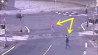 3个监控拍到的惊险车祸瞬间