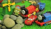 托马斯小火车玩具视频 2017托马斯和他的朋友们中文版 蒸汽火车运转