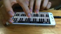 """歪歌社团""""教你一招""""第02期:小米手机不下载任何软件就能用钢琴弹出美妙的音乐"""