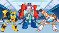 【亮哥】变形金刚救援机器人#12困难模式洪水关卡三星 恐龙机器人