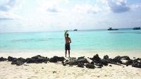【海哥 迷你Vlog】马尔代夫小鸡岛抓螃蟹 10