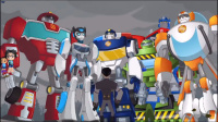 【亮哥】变形金刚救援机器人#14困难模式全通关 恐龙机器人
