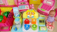 婴儿PORORO沃尔玛登记和现金登记玩具娃娃