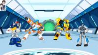 变形金刚救援机器人灾难来袭第5期:龙卷风来了★汽车人玩具
