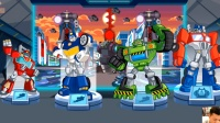 变形金刚:救援机器人第8期:科技城救援 ★玩具机器