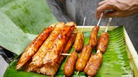 【屌丝吃大街】菲律宾蕉叶家常菜(菲律宾第6日)