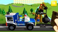 变形警察珀利系列 克里尼 环保加工厂 警车珀利 废品回收站