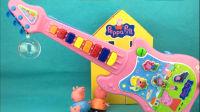 小猪佩奇的多功能吉他 能打地鼠的音乐玩具 56