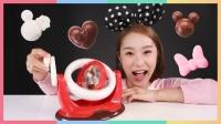 凯利的米奇米妮 米老鼠立体巧克力制作玩具游戏 94