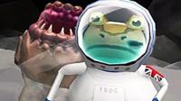 魔哒解说一起玩 搞怪神奇青蛙登月成太空旅客大