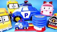 0719 - 机器人车多抽车ROBOCAR波利泵车银行玩具мультфильмыпромашинкиРобокарПолиИгрушки