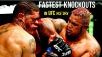 UFC综合格斗历史上十大最快终结对手的比赛