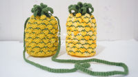 希妈手作 第98集 菠萝包 束口袋 钩针编织视频教程