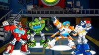 变形金刚救援机器人灾难来袭第12期:四大金刚解锁 汽车人玩具