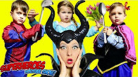 Spiderman and Frozen Elsa BABIES vs Maleficent, funny movies for kids