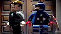 乐高游戏 超级英雄12期 美国队长、钢铁侠抢攻曼哈顿攻略解说