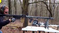 实测通用机枪的鼻祖—德制MG34 二战期间的收割利器!