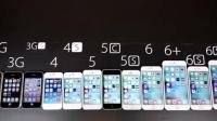 iPhone2G到6sp大比拼, 其实也看见了苹果的退步。