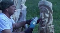 木工雕刻技术, 纯原始技艺的展示, 太厉害了!