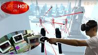 【VR游戏室】《燥热VR》——时空停滞演绎高超技巧, 骇客重现, 尽情享受子弹的螺旋气浪吧(SUPERHOT VR)