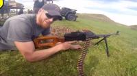 PKM通用机枪弹链供弹射击, 遍地弹壳无人问津