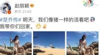 《特工皇妃楚乔传》今日开播 赵丽颖晒血腥剧照说明了啥?