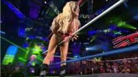 TNA女子冠军赛 马德森vs安吉丽娜爱 黑衣人出现干