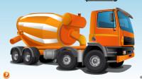 水泥搅拌车 工程车 铲车 吊车 大卡车 挖掘机 推土机 最新挖掘机工作视频频