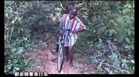 中国人给非洲当地人买了一辆自行车, 小伙跟有了奔驰一样到处炫耀