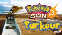 【洁癖男】超酷超萌的真人版皮卡丘跑酷Pokémon Sun PARKOUR
