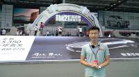 2017深港澳车展:中介正在召唤外籍车模